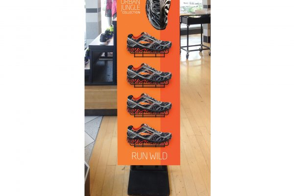 Retail Shoe Tower